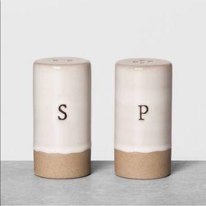Salt & Pepper Shakers Cream - Hearth & Hand